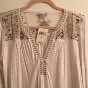 Lucky Brand blouse NEW$29/M